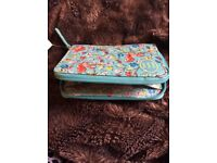 Cath Kidston unused with tag squirrel print travel purse