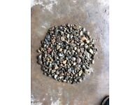 10-40 mm riverbed garden and driveway chips/gravel