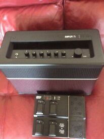 Line6 amplify 75 + FBU MK11 foot controller