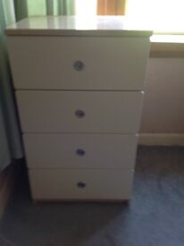 Chest of drawers - 4 drawers, ex John Lewis, excellent condition