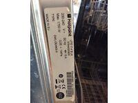 Hot point semi intergrated dishwasher