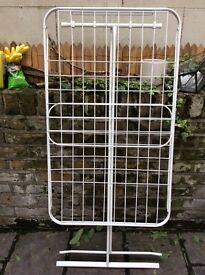 Ikea clothes drying rail in used condition