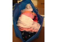 Give away baby girls clothes