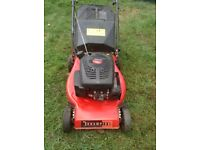Champion Lawn Mower 40 model push with rotary blade