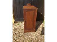 Antique Mahogany bedside pot cupboard