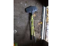 manual leaf grabber - used once - bargain at £10