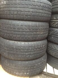 Jeep or van 18inch good tyres 225/55/18 60£