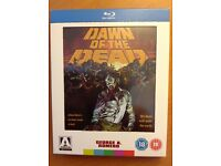 DAWN OF THE DEAD (Blu-ray) 3-Disk Edition. Arrow Video. RARE!!!