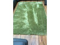 Apple Green Shimmer Rug 150x 220cm