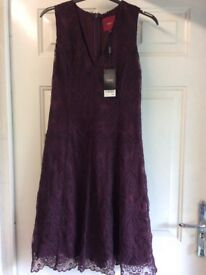 Aubergine NEXT lace dress