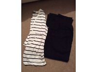 Maternity top and trousers £10