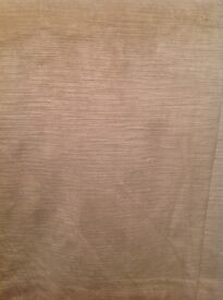 120 pounds or nearest offer Well Made thick chenille material beautiful beige - Cream Colour