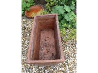 Terracotta Trough / Planter