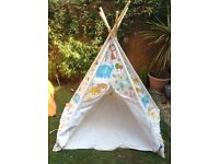 Teepee tipe tent play for kids