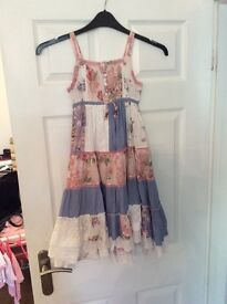 Next Maxi Dress Age 7