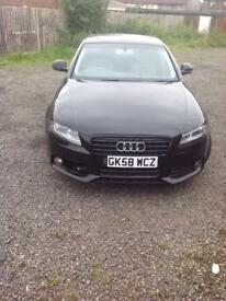 2008 AUDI A4 211BHP SLINE KIT NOT A5 VW MERCEDES BMW/NEED GONE TONIGHT/OFFERS?