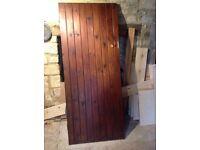 Ledge & Brace door - good solid heavy example