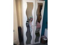 Mirror wardrobe