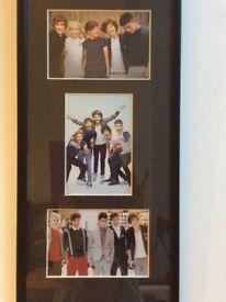 Framed photo of 1 Direction