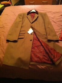 Hawes & Curtis men's Covert Coat for Business wear. Never worn.