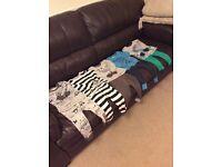 Next boys 5 pairs pyjamas age 18-24 months/1.5-2years snug fit