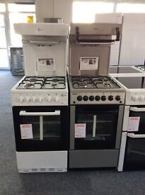 BEKO GAS COOKER WITH HIGH LEVEL GRILL NEW GRADED 12 MTH GTEE £270