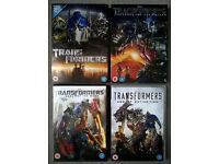 TRANSFORMERS DVDs