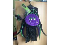 Spider Halloween Dress up costume 1-2 years