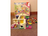 Duplo house suitable for 3-6 years