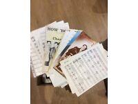 Whole Box of Sheet Music! Bargain!