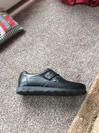 Black kickers size 10