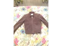 Gorgeous Grey Leather Jacket from Mango!! Eur size M (up to size 10) Originally bought for £59.99