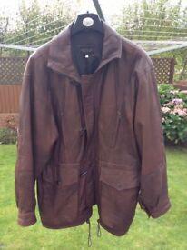 Genuine Italian-Leather Men's Jacket