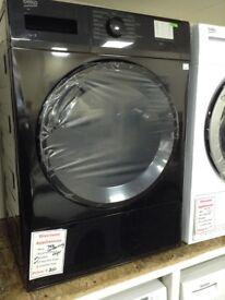 Beko 7kg condensing dryer. Black £200 new/graded 12 month Gtee