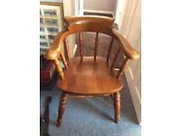 Pub style captains chair