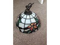 Tiffany-style light shade £30