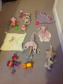 Job lot of baby toys to suit a girl