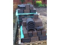 NEW Marley Eternit Hawkins Blue Smooth Clay Roof Tiles