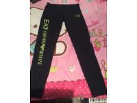 EA7 Women's medium leggings (running Trousers)
