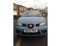 2007 SEAT IBIZA 1.4 Stylance 3dr ,WITH SERVICE HISTORY IDEAL FOR NEW DRIVERS