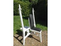 Military Press Bench with Spotting Platform (Delivery Available)