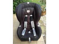 Isofix Britax Du Plus baby/ toddler safety car seat.