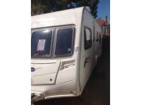 Bailey pageant burgundy 2007 4 berth fixed bed