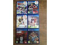 PlayStation PS4 games