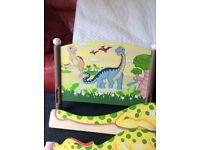 Kids dinosaur bed and matress