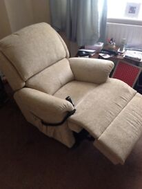 Electric Recliner + 2 standard armchairs