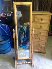 Free Standing Bedroom Mirror