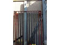 Heavy metal gates with posts £350 ono