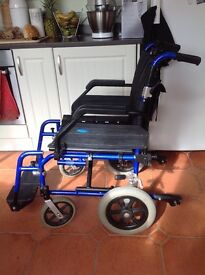 Wheeltech Enigma lightweight aluminium wheelchair