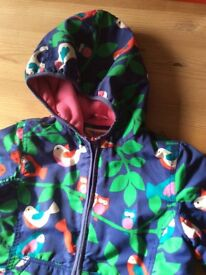 Boden girls winter coat age 7-8 very good condition
